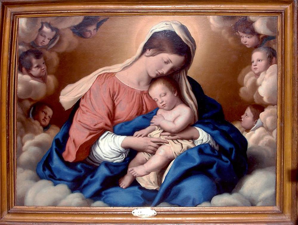Immagini madonne e dame i miei hobby for Quadri con angeli